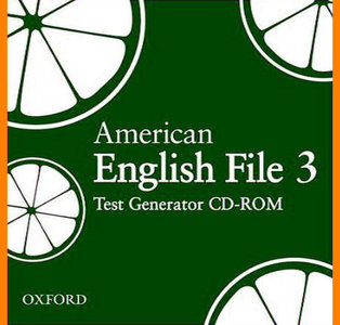 ENGLISH COURSE • American English File • Level 3 • CD-ROM • Test Generator (2008)