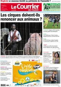 Le Courrier de l'Ouest Angers - 11 mars 2018