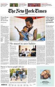 International New York Times - 4 June 2019