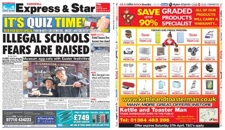 Express and Star Sandwell Edition – April 22, 2019