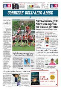 Corriere dell'Alto Adige – 24 agosto 2018