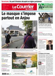 Le Courrier de l'Ouest Angers – 17 octobre 2020