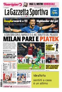 La Gazzetta dello Sport Roma – 27 gennaio 2019