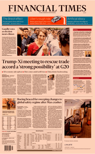 Financial Times Europe – 13 May 2019
