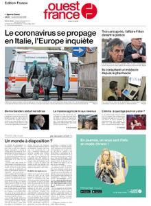 Ouest-France Édition France – 24 février 2020