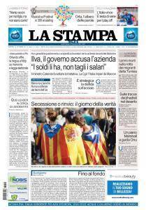 La Stampa Imperia e Sanremo - 10 Ottobre 2017