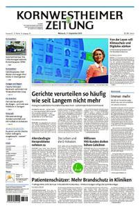 Kornwestheimer Zeitung - 11. September 2019