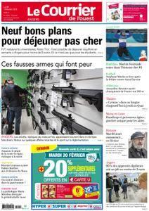 Le Courrier de l'Ouest Angers - 19 février 2018