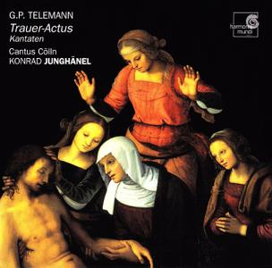 Konrad Junghanel, Cantus Colln -Telemann: Trauer-Actus. Kantaten (2002)