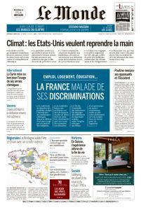 Le Monde du Vendredi 23 Avril 2021