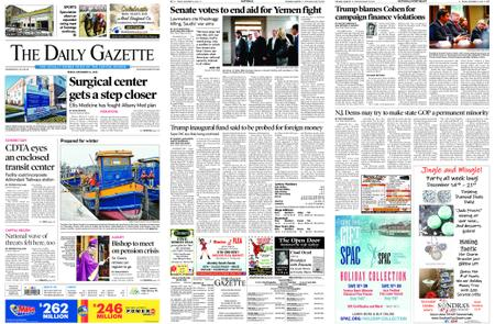 The Daily Gazette – December 14, 2018