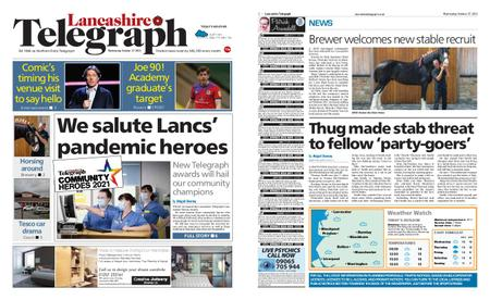 Lancashire Telegraph (Blackburn, Darwen, Hyndburn, Ribble Valley) – October 27, 2021