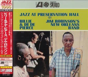Billie & De De Pierce / Jim Robinson's New Orleans Band - Jazz At Preservation Hall II (1962) {2013 Japan Jazz Best Collection}