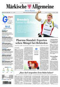 Märkische Allgemeine Dosse Kurier - 29. August 2018