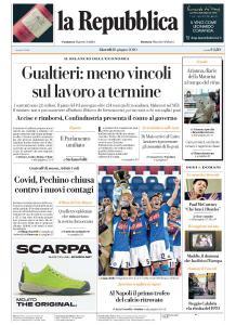La Repubblica - 18 Giugno 2020