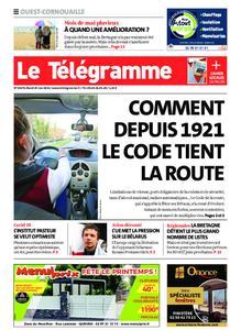 Le Télégramme Ouest Cornouaille – 25 mai 2021