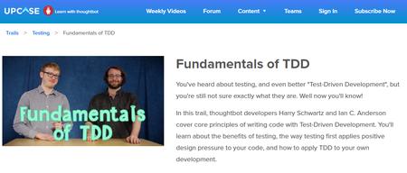 Upcase - Fundamentals of Test Driven Development (2017)