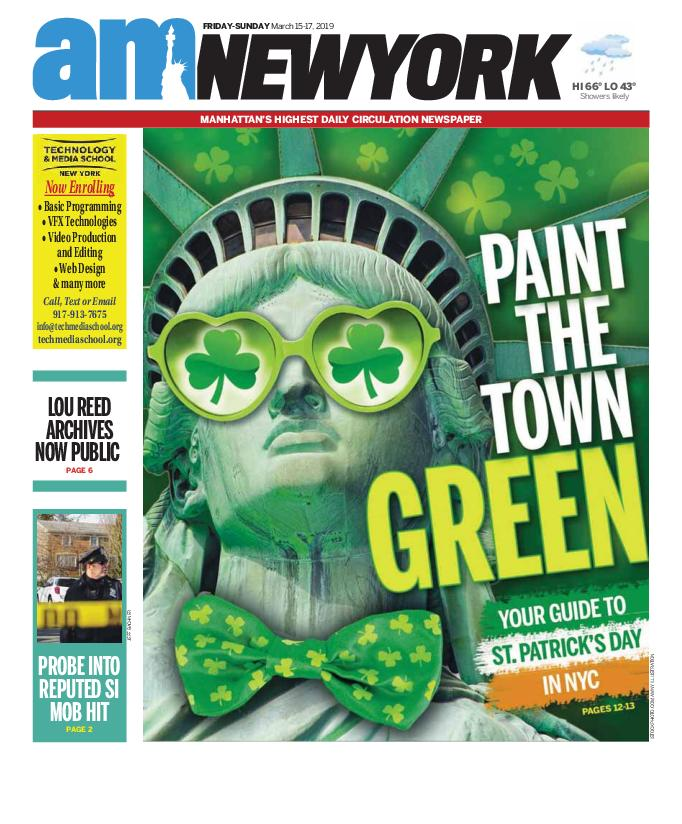 AM New York - March 15, 2019