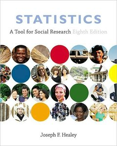 Statistics: A Tool for Social Research (8th Edition) (repost)
