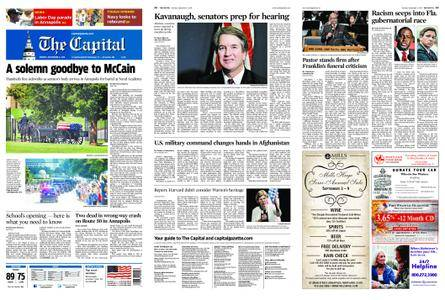 The Capital – September 03, 2018