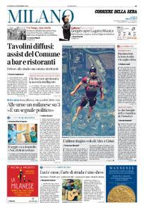 Corriere della Sera Milano – 21 settembre 2020