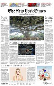 International New York Times - 27 July 2018