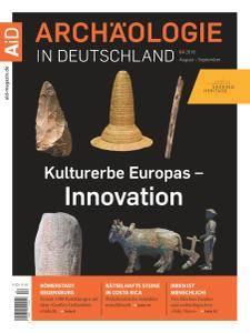 Archäologie in Deutschland - August-September 2018