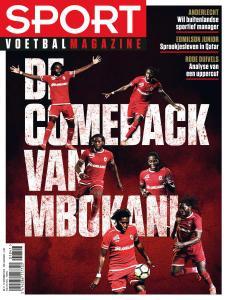 Sport Voetbal Magazine - 21 November 2018