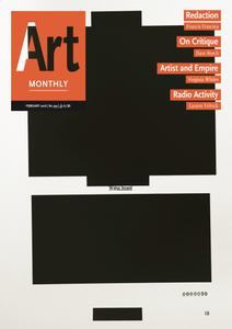 Art Monthly - February 2016   No 393