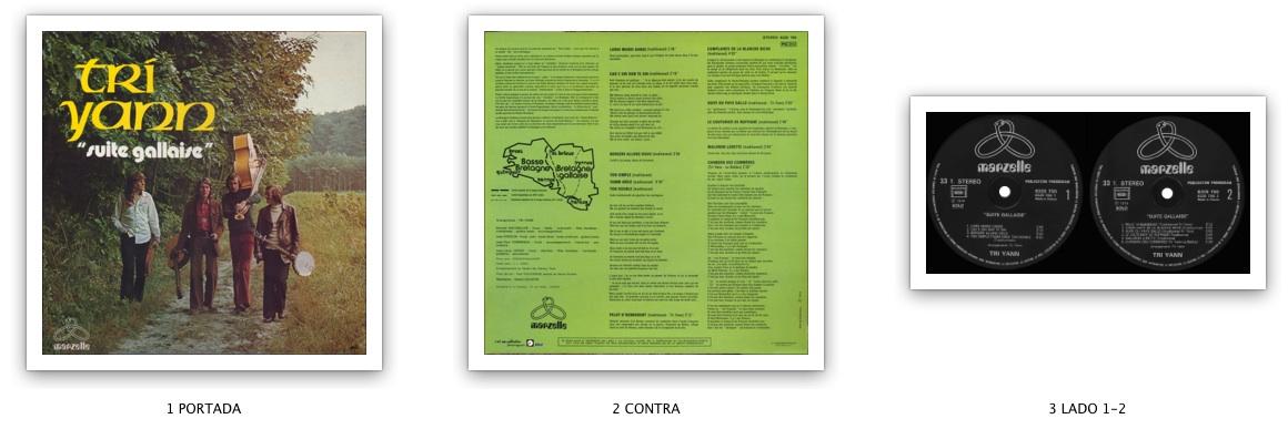 Tri Yann - Suite Gallaise (1974) Marzelle/6325 700 - Original FR Pressing - LP/FLAC In 24bit/48kHz