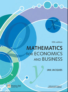 Mathematics for Economics and Business, 5th Edition (repost)