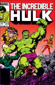 Incredible Hulk 314 1985