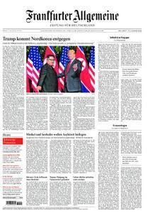 Frankfurter Allgemeine Zeitung F.A.Z. - 13. Juni 2018