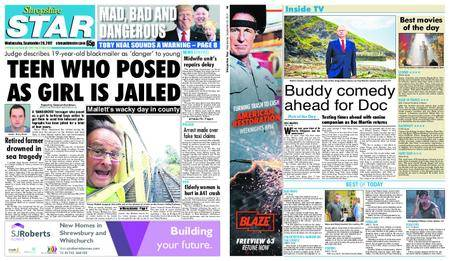 Shropshire Star Shrewsbury Edition – September 20, 2017