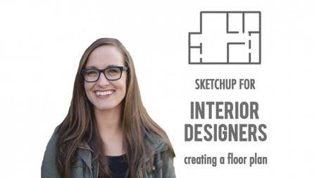 SkillShare – SketchUp for Interior Designers - Creating a Floor Plan
