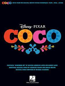 Disney/Pixar's Coco Songbook: Music from the Original Motion Picture Soundtrack
