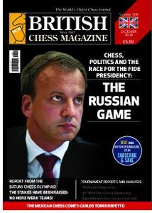British Chess Magazine – October 2018