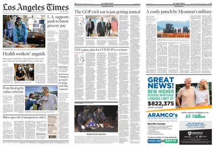Los Angeles Times – February 03, 2021