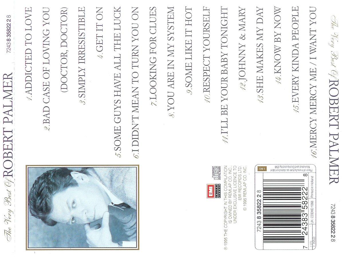 Robert Palmer- The very best of