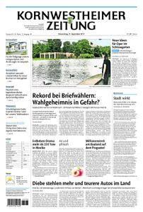 Kornwestheimer Zeitung - 21. September 2017