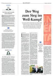 Märkische Allgemeine Prignitz Kurier - 16. Oktober 2017