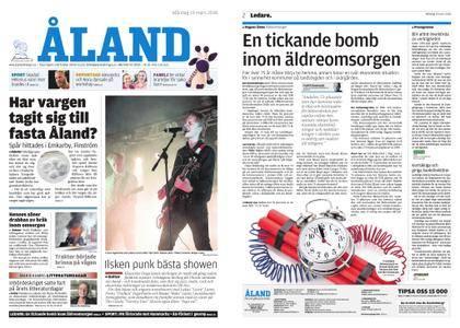 Ålandstidningen – 19 mars 2018