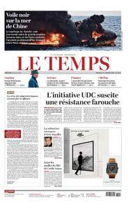 Le Temps - 17 janvier 2018