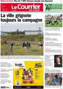 Le Courrier de l'Ouest Angers – 29 avril 2019
