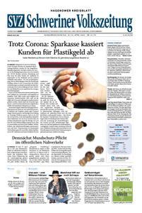 Schweriner Volkszeitung Hagenower Kreisblatt - 18. April 2020