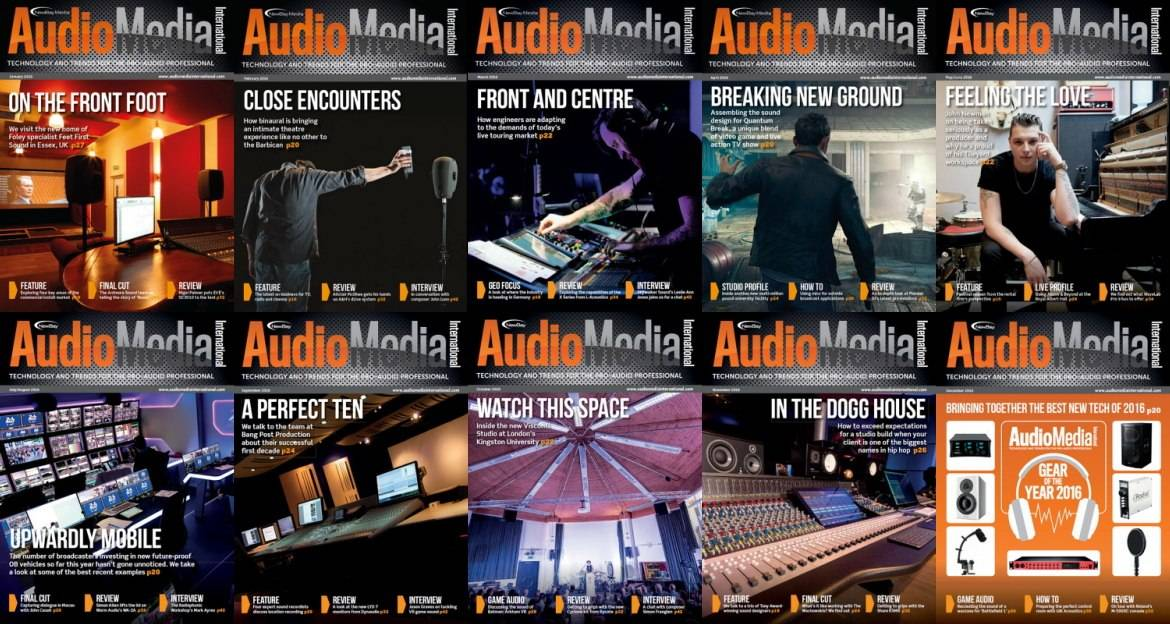 Audio Media International - 2016 Full Year Issues Collection