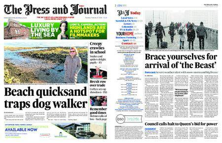 The Press and Journal Moray – February 27, 2018
