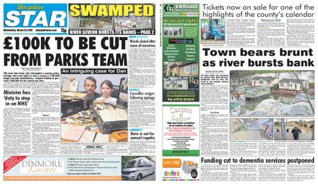 Shropshire Star Shrewsbury Edition – March 20, 2019