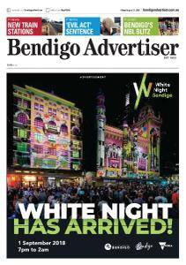 Bendigo Advertiser - August 31, 2018