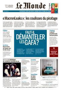 Le Monde du Dimanche 16 et Lundi 17 Juin 2019